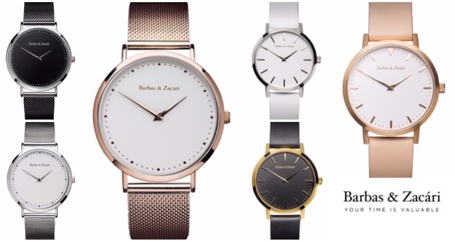 Want Free Delivery & 15% Off A Barbas & Zacari Watch? Here's How!!!