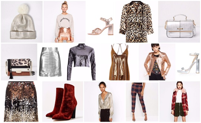 New Season Trends: Velvet, Metallic, Tartan & Animal Print